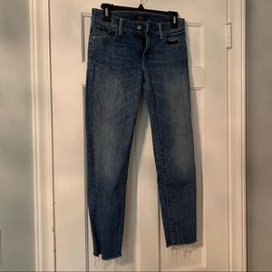 Ralph Lauren Medium Washed Jeans with Fray